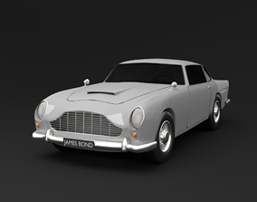 vehicle 3D model Aston Martin