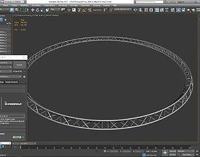 3D printable model Circle Triangular Truss Full diameter 1