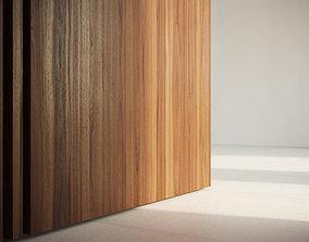 Raw Walnut veneer texture 3D model