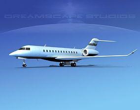 Bombardier Global Express 6000 V14 3D