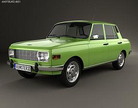 Wartburg 353 1966 3D