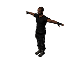 special forces night wolves named Roman 3D model