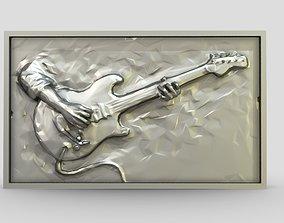 3D print model Guitarist