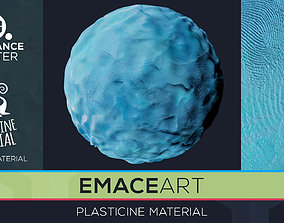 3D PBR Toon Plasticine sbsar Material 8 Substance Unity