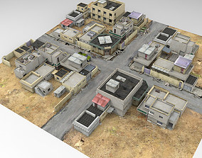 3D model Desert Town Poser Vue