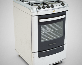 Stove - Electrolux 52SM Used 3D asset
