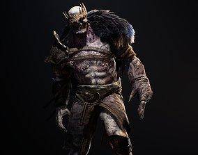 Cursed King 3D asset