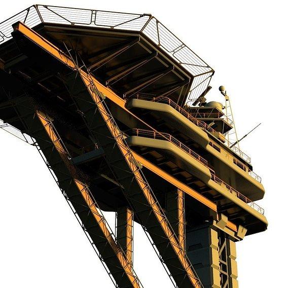 sci fi landing platform 2