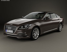 3D Hyundai Genesis DH with HQ interior 2014
