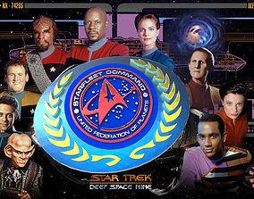 3D print model Starfleet Command Belt Buckle V 1and2 w2 3