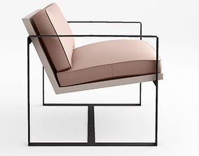 3D model Redford House Manhattan armchair