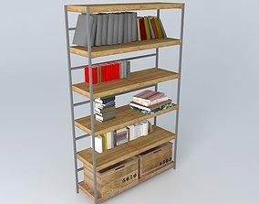 Manufacture Shelves Maisons du Monde 3D model