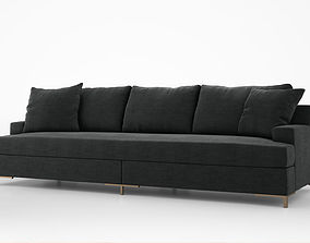 3D model Christian Liaigre Don Juan sofa