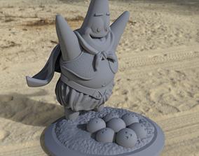 3D printable model Fat BuuTrick - Mix DBZ - SpongeBob