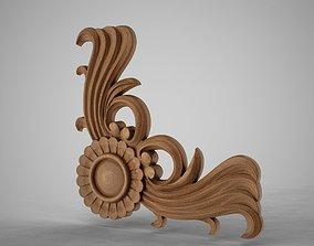 3D print model Corner Ornamental