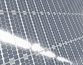 solar collector 15 3D