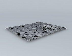 3D model Moon Terrain