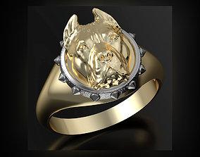pitbull ring 3D printable model