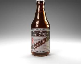 San Miguel Beer Pale Pilsen 3D