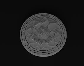 3D printable model Sun flower crib board