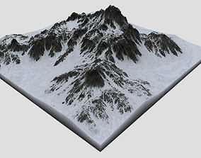 Snowy Mountain MTT15 3D