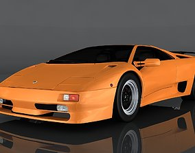 1997 Lamborghini Diablo 3D asset