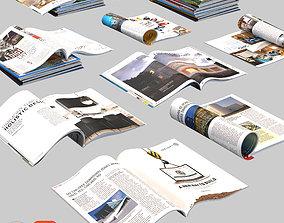 3D room Magazines