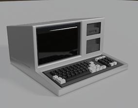 3D asset Old Computer