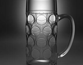 beer glass type1 3D model