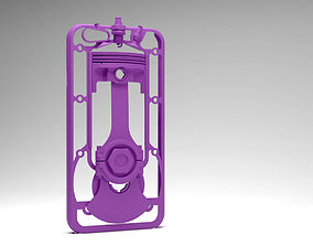 Mechanical case for iphone6-6s like engine 3D print model