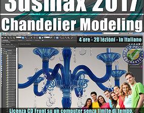 048 3ds max 2017 Chandelier Modeling vol 48 CD front