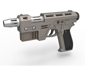 3D model Blaster Pistol Glie-44 from the movie Star Wars 2