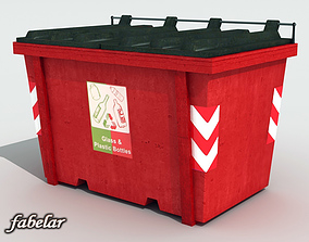 Recycle bin 3D model