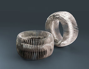 3D print model Wave bracelet