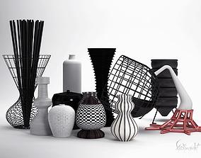 3D Models Vases Collection