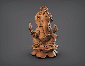 Shree Ganesha 3D printable model miniatures