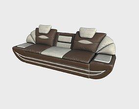 Old Sofa 03a 3D model