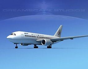 3D model Boeing 767-100 Olympic