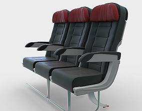 3D model Airplane Seats