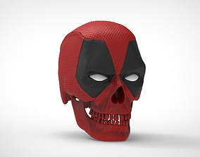 Deadpool Skull 3D printable model