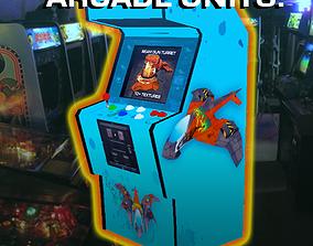 3D asset realtime Arcade Units