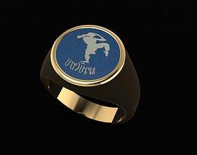 golden-ring 3D print model