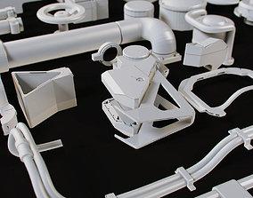 3D model Environment paintbrush kit