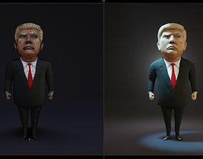 3D model Trump