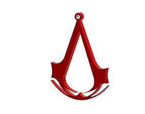 3D print model Assassin s creed pendant