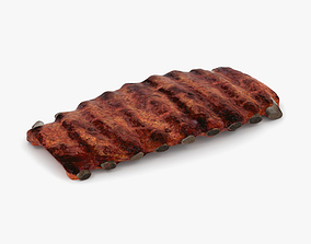 Barbecue Ribs 3D