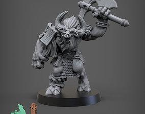 3D printable model Beastman Grunt