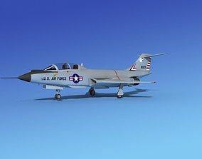 3D model McDonnell F-101B Voodoo V01
