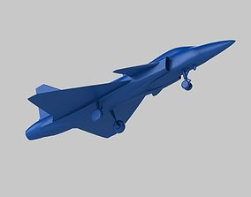 passenger Airplane 3D printable model