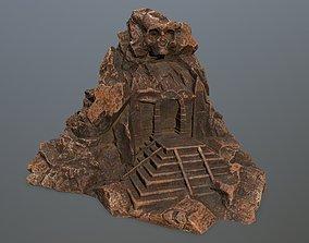 3D model realtime skull gate
